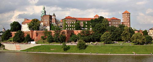 Wawel Castle Old Town in Krakow